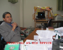 The Principal in his Office